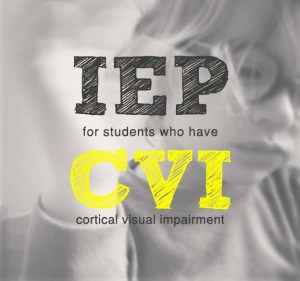 What to include in an IEP for a student who has CVI