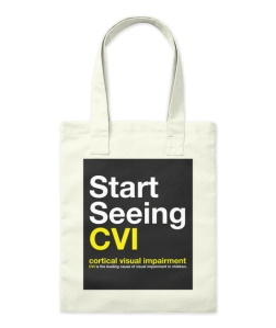 Start Seeing CVI tote!